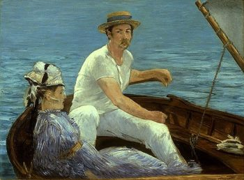Boating 1874 | Eouard Manet | Oil Painting