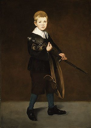 Boy with a Sword 1861 | Eouard Manet | Oil Painting