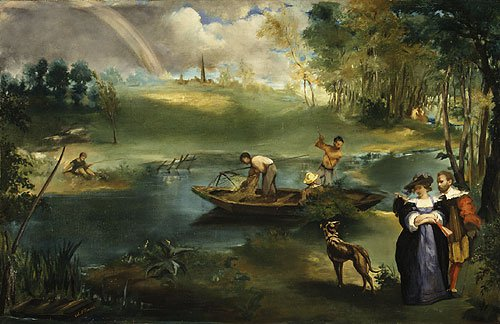 Fishing | eouard Manet | Oil Painting