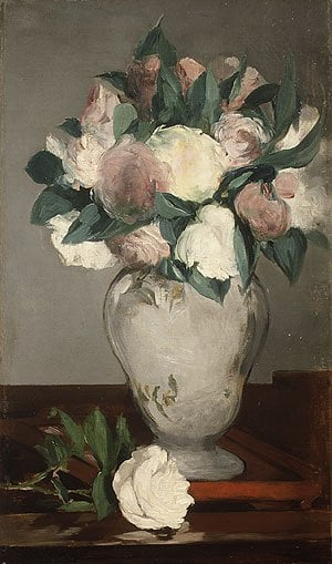 Peonies | Eouard Manet | Oil Painting