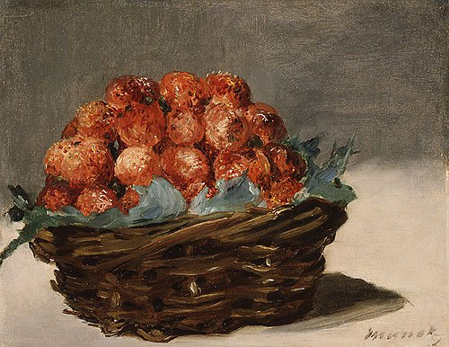 Strawberries ca. 1882 | Eouard Manet | Oil Painting