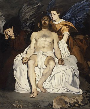 The Dead Christ and the Angels 1864 | Eouard Manet | Oil Painting