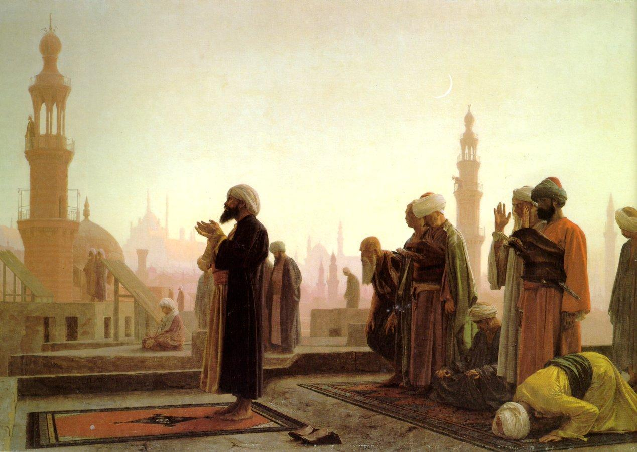 Prayer on the Housetops 1865 | Jean Leon Gerome | Oil Painting