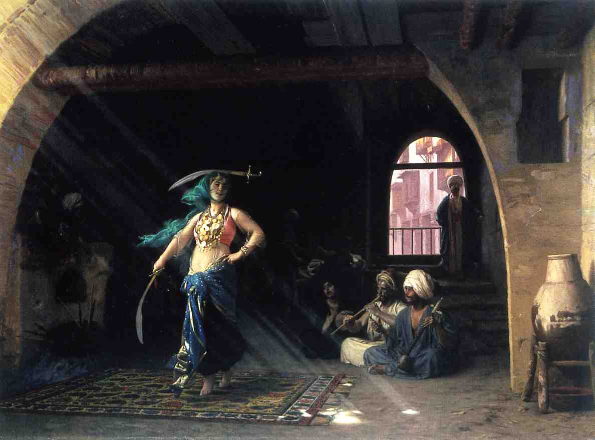 Sabre Dance in a Cafe 1876 | Jean Leon Gerome | Oil Painting