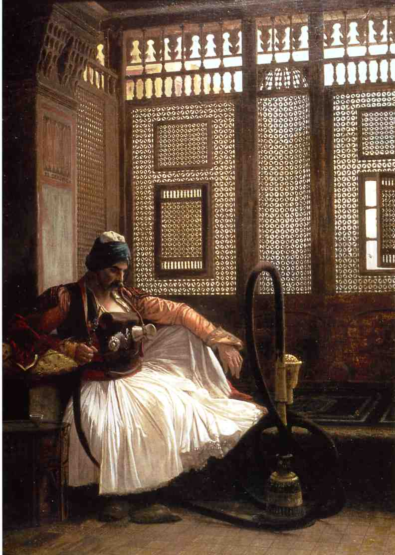 Arnaut Smoking 1865 | Jean Leon Gerome | Oil Painting