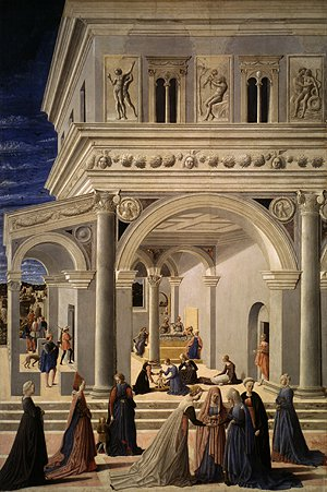 The Birth of the Virgin 1467 | Fra Carnevale | Oil Painting
