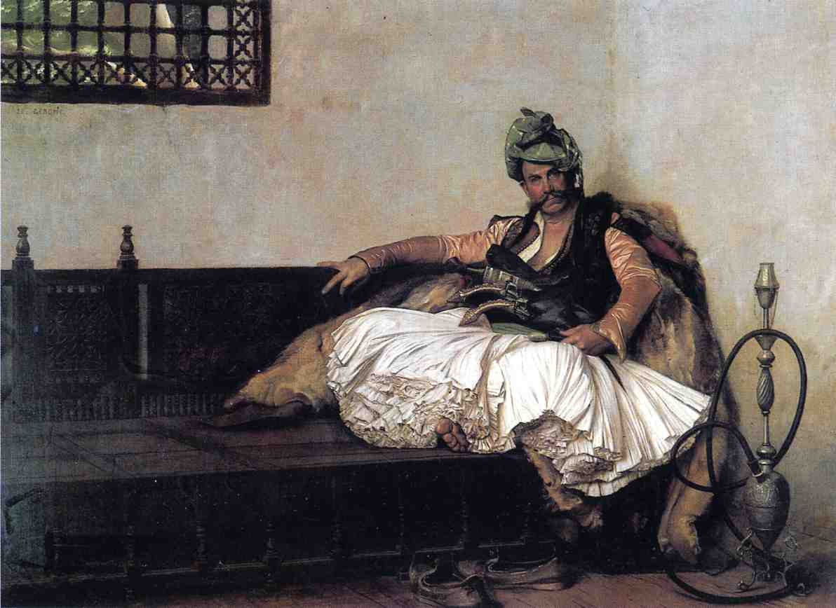 Bashi Bazouk Chief 1881 | Jean Leon Gerome | Oil Painting