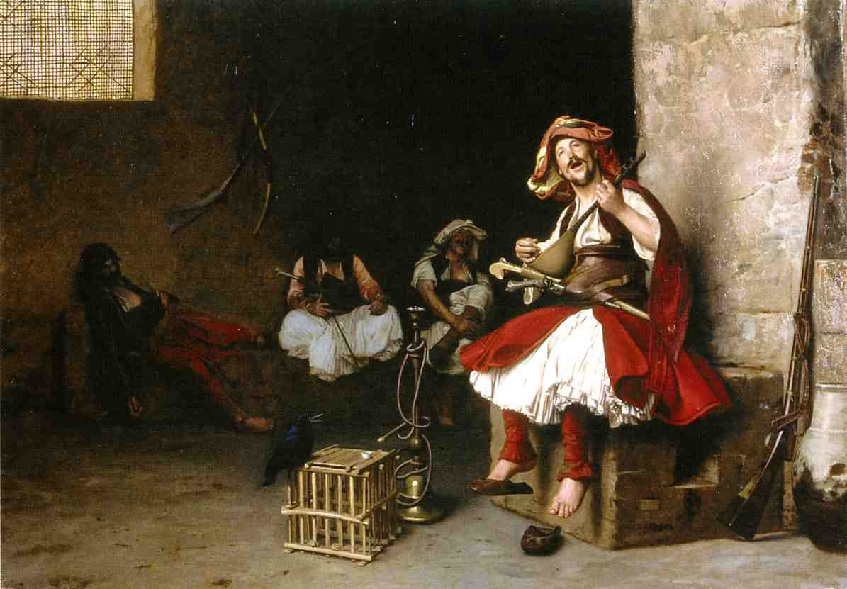 Bashi Bazouk Singing 1868 | Jean Leon Gerome | Oil Painting
