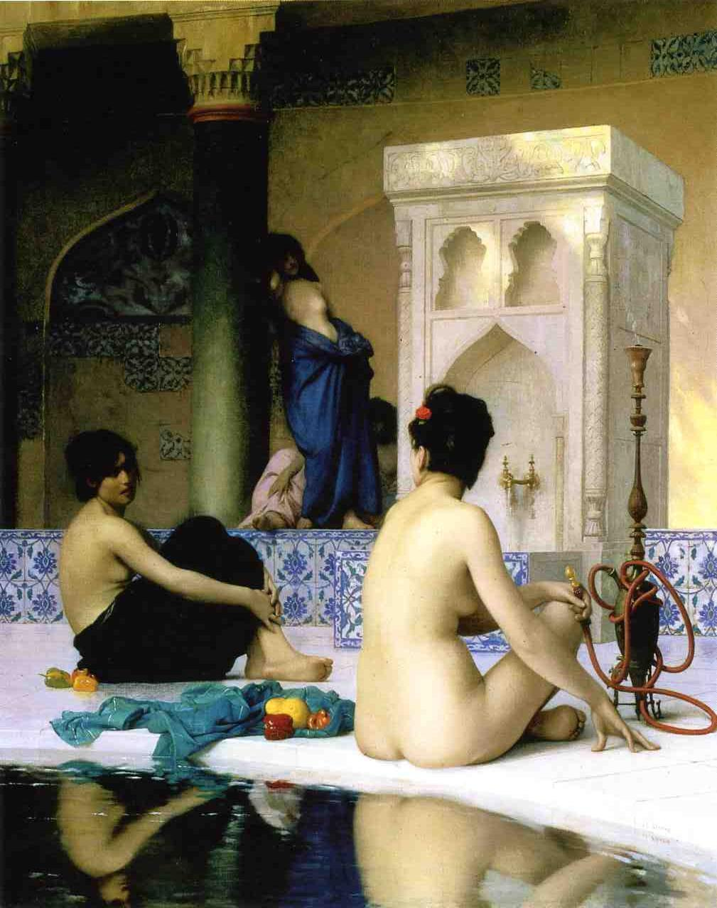 Bathing Scene 1881 | Jean Leon Gerome | Oil Painting