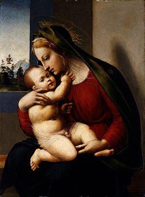 Madonna and Child ca 1520 | Francesco Granacci | Oil Painting