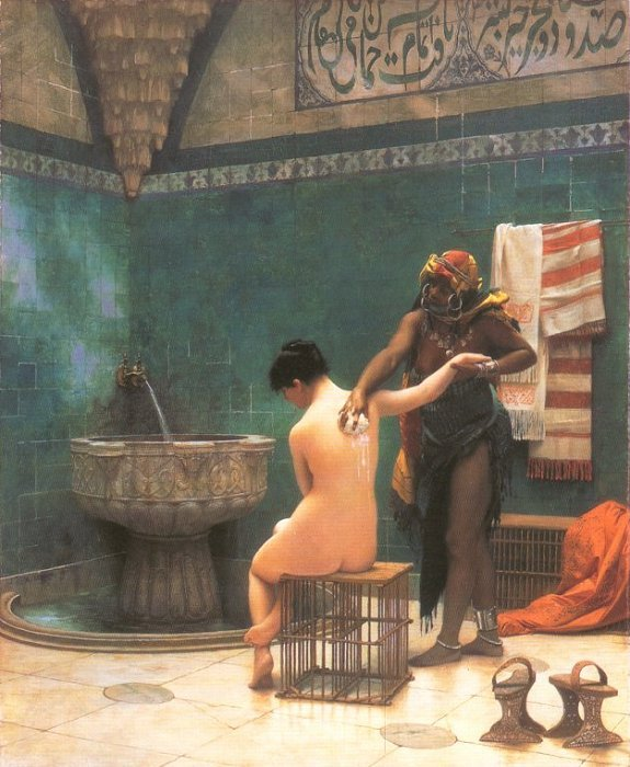The Bath 1880 1895 | Jean Leon Gerome | Oil Painting