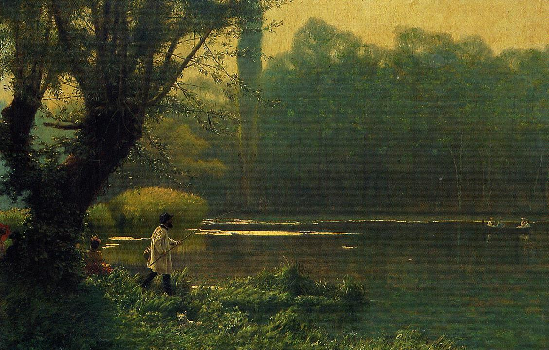 Summer Afternoon on a Lake 1896 | Jean Leon Gerome | Oil Painting