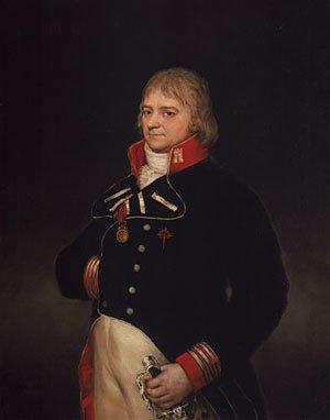 Don Ignacio Garcini y Queralt Brigadier of Engineers 1804 | Francisco de Goya y Lucientes | Oil Painting