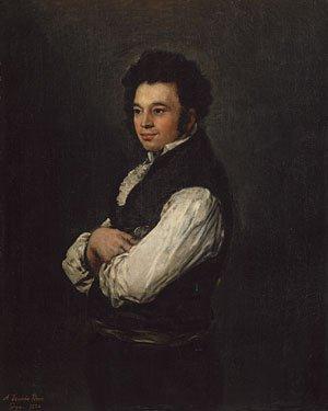 Don Tiburcio Perez y Cuervo the Architect 1820 | Francisco de Goya y Lucientes | Oil Painting