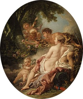Angelica and Medoro 1763 | Francois Boucher | Oil Painting