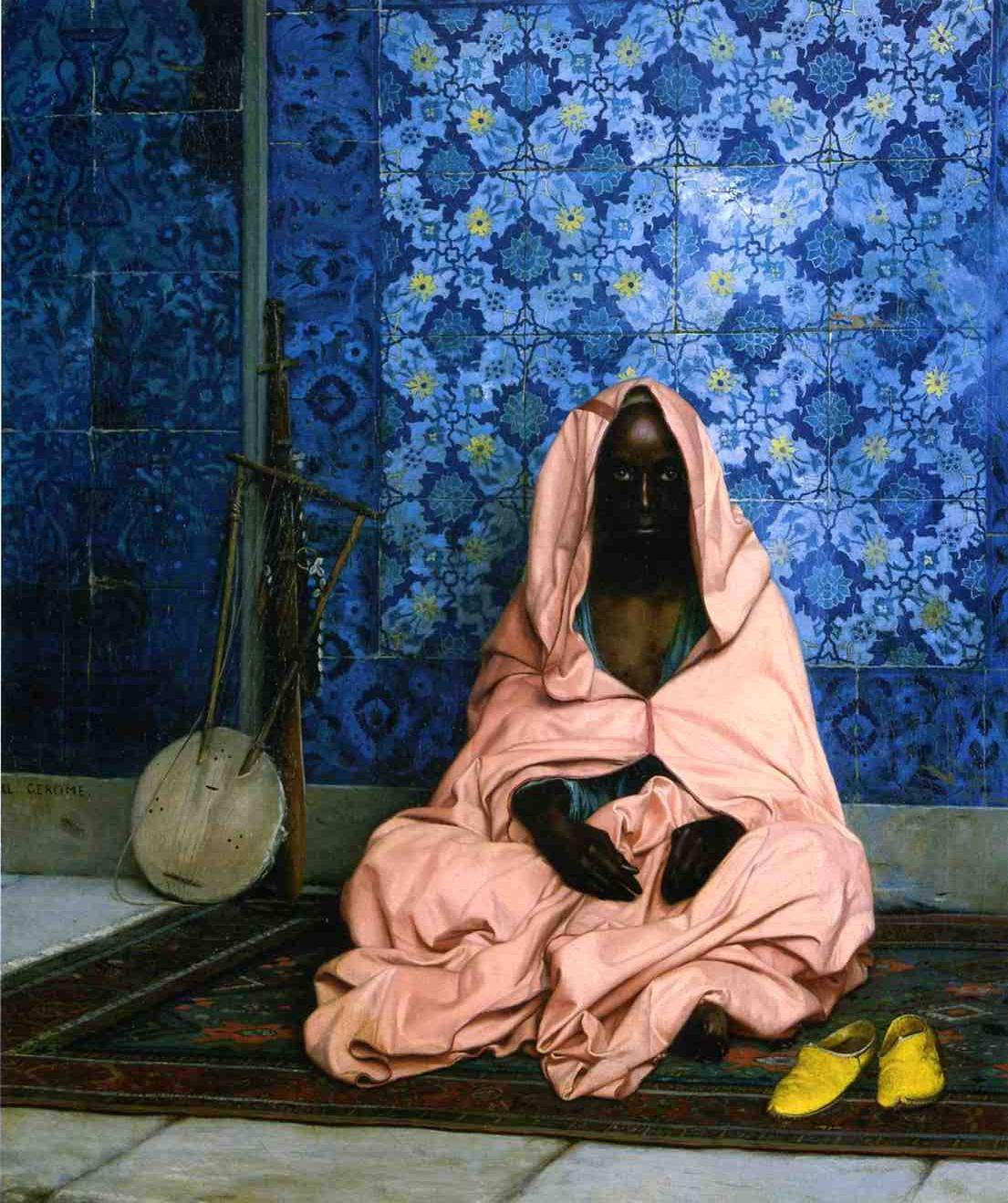 The Black Poet 1888 | Jean Leon Gerome | Oil Painting