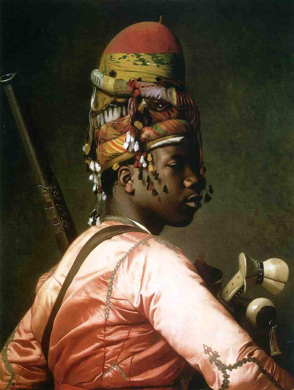 Black Bashi Bazouk 1869 | Jean Leon Gerome | Oil Painting