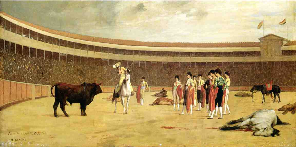 Bull and Picador 1867 1868 | Jean Leon Gerome | Oil Painting