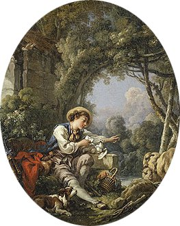 The Dispatch of the Messenger 1765 | Francois Boucher | Oil Painting