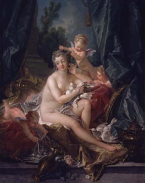 The Toilet of Venus 1751 | Francois Boucher | Oil Painting