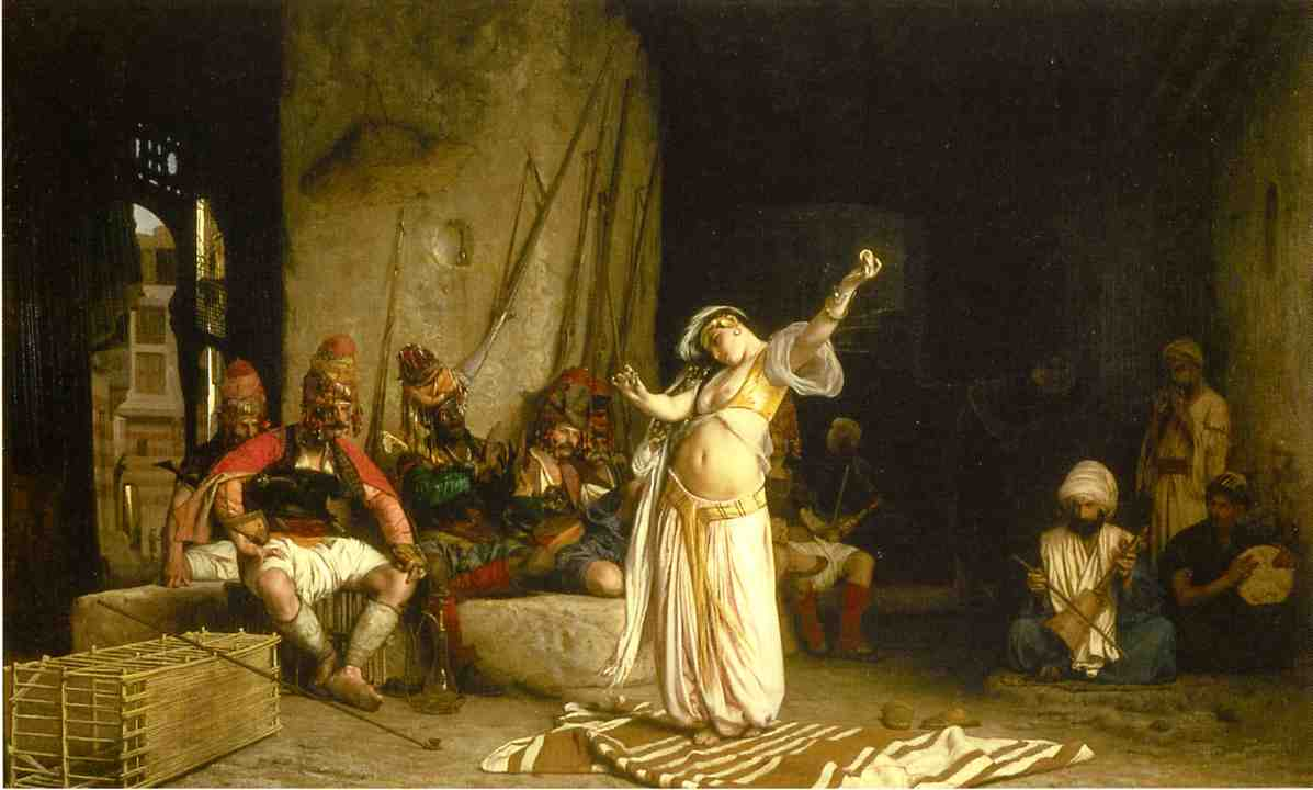 The Dance of the Almeh 1863 | Jean Leon Gerome | Oil Painting
