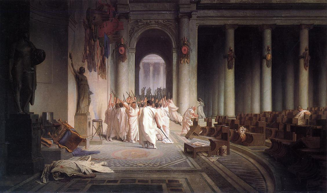 The Death of Caesar 1867 | Jean Leon Gerome | Oil Painting