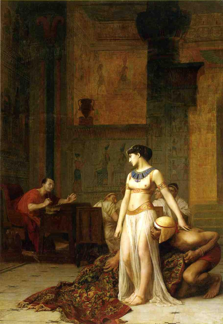 Cesaer and Cleopatra 1866 | Jean Leon Gerome | Oil Painting