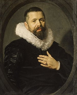 Portrait of a Bearded Man with a Ruff 1625 | Frans Hals | Oil Painting