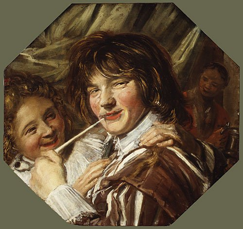 The Smoker ca 1623 | Frans Hals | Oil Painting