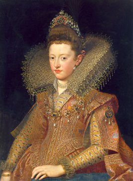Margherita Gonzaga Princess of Mantua | Frans Pourbus the Younger | Oil Painting