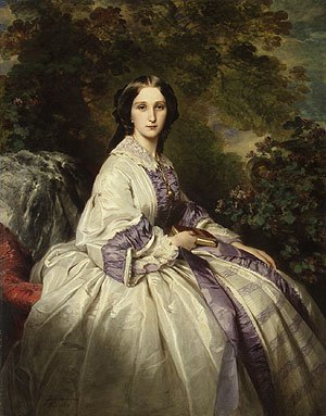 Countess Alexander Nikolaevitch Lamsdorff | Franz Xaver Winterhalter | Oil Painting