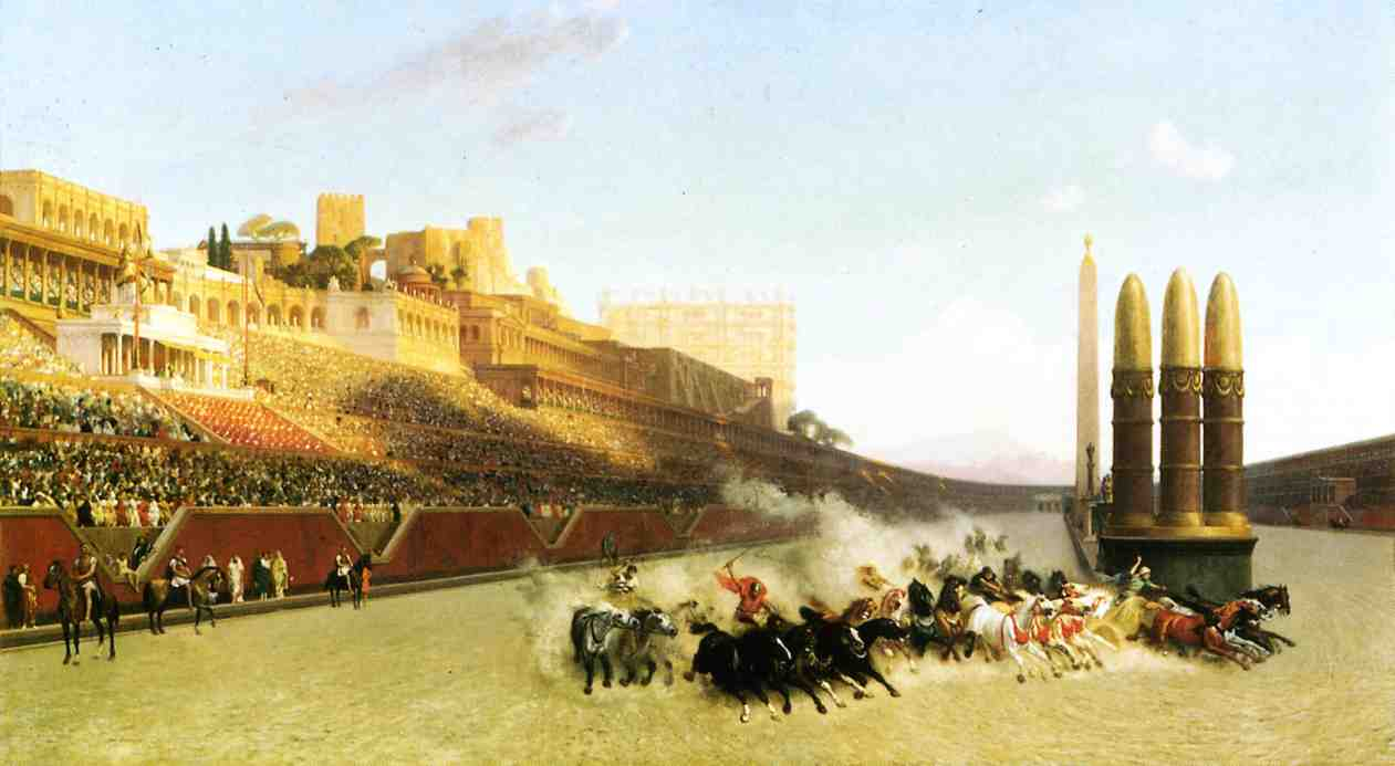 Circus Maximus 1876 | Jean Leon Gerome | Oil Painting
