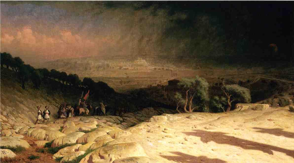 Consumjmatum est Jerusalem 1867 | Jean Leon Gerome | Oil Painting