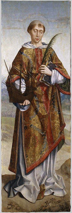 Saint Vincent Patron Saint of Lisbon | Frei Carlos | Oil Painting