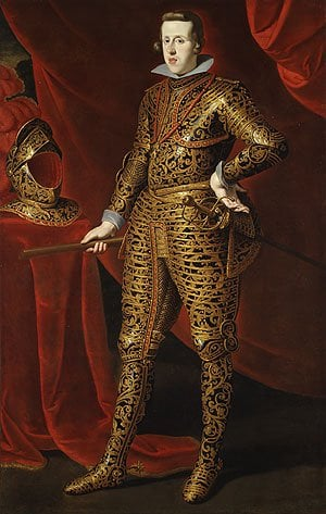 Philip IV in Parade Armor possibly late 1620s | Gaspar de Crayer | Oil Painting