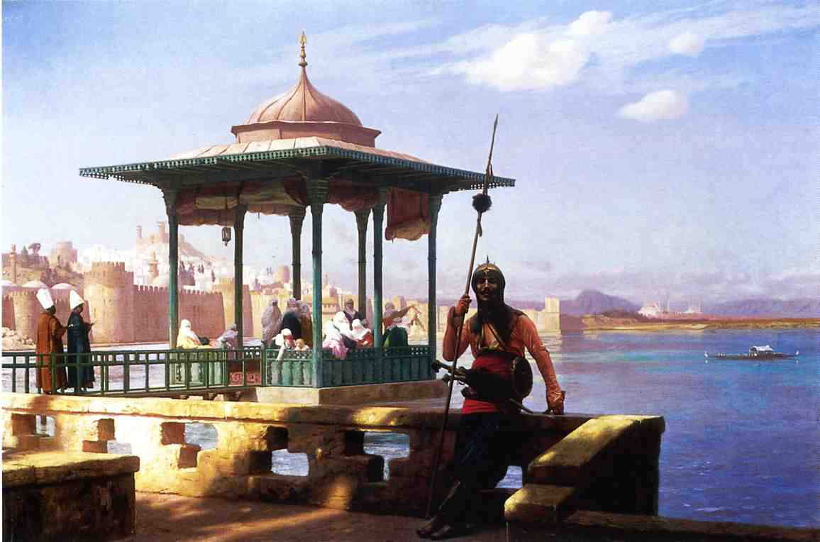 The Harem in a Kiosk 1870 | Jean Leon Gerome | Oil Painting