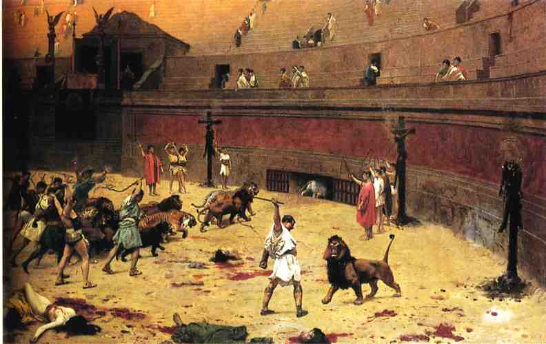 Departure of the Cats from the Circus 1902 | Jean Leon Gerome | Oil Painting