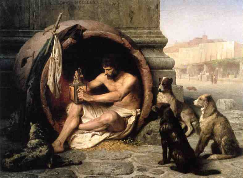 Diogenes 1860 | Jean Leon Gerome | Oil Painting