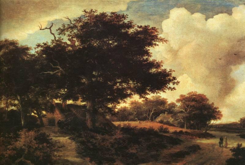 Landscape | Meyndert Hobbema | Oil Painting