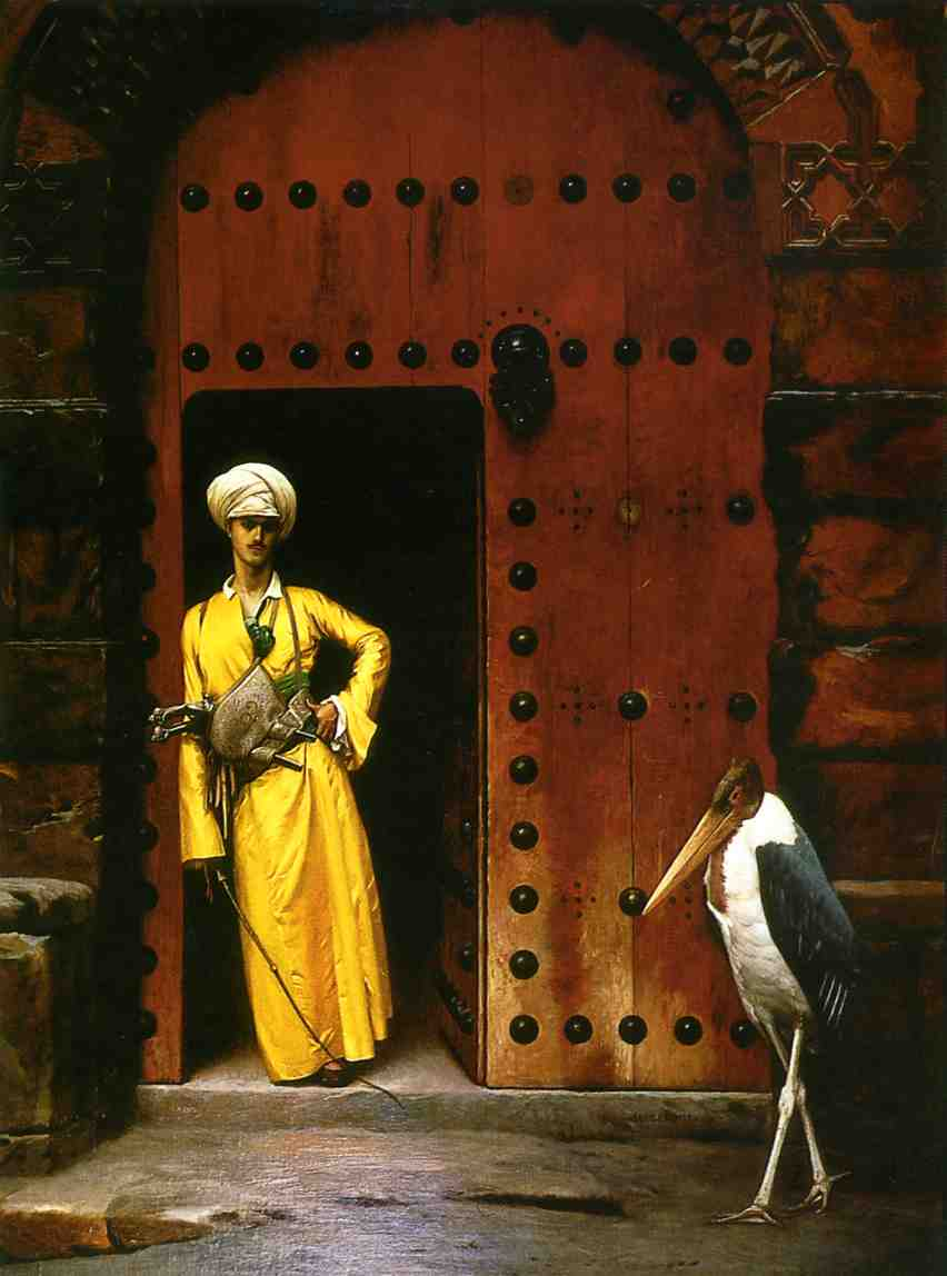 The Marabou 1888 1889 | Jean Leon Gerome | Oil Painting