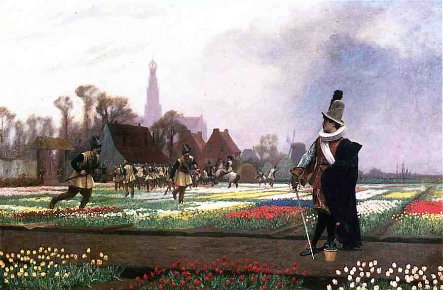 Duel among the Tulips 1882 | Jean Leon Gerome | Oil Painting