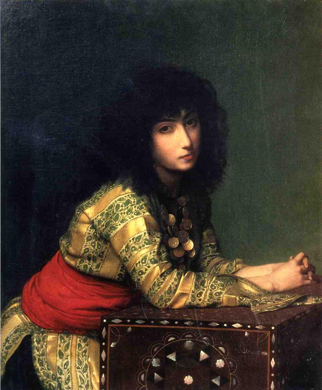 Egyptian Girl 1877 | Jean Leon Gerome | Oil Painting