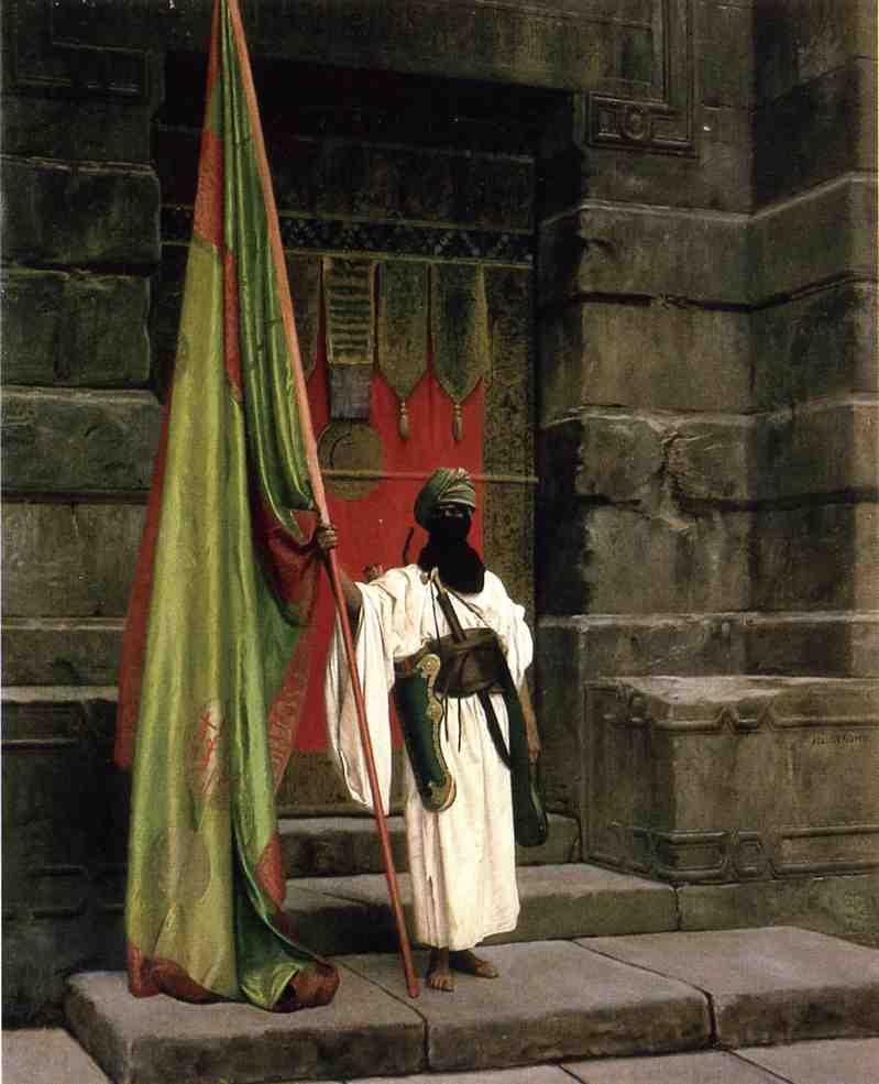 The Prophet's Standard aka The Standard Bearer 1878 | Jean Leon Gerome | Oil Painting