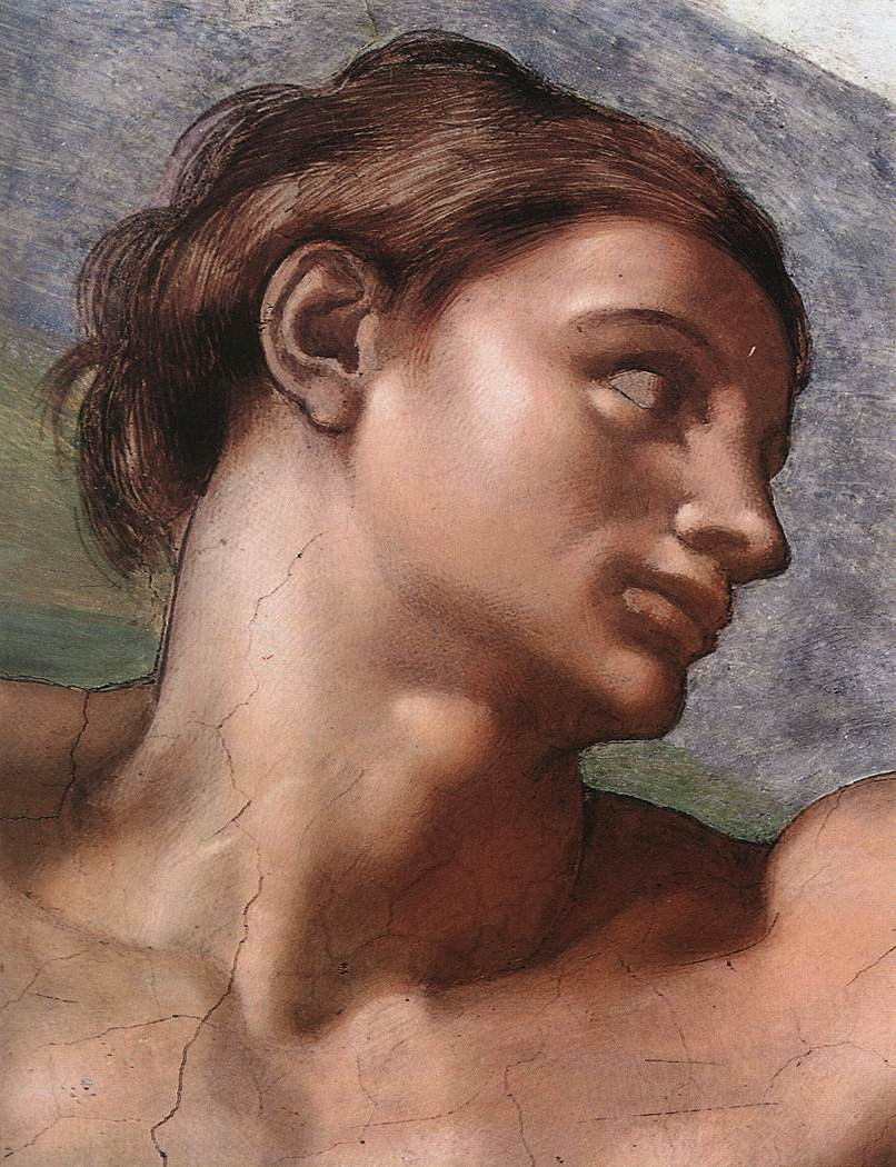 Creation Of Adam(Detail-2) 1510 Cappella Sistina Vatican   Michaelangelo   Oil Painting