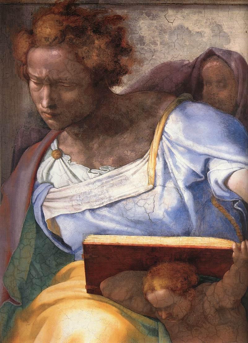 Daniel (Detail) 1 1511 | Michaelangelo | Oil Painting