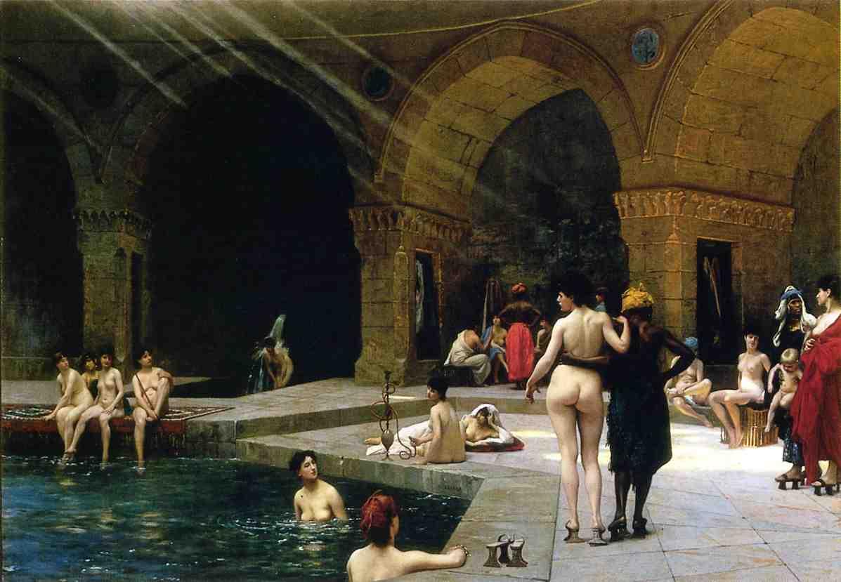 Grande Piscine de Brousse 1885   Jean Leon Gerome   Oil Painting