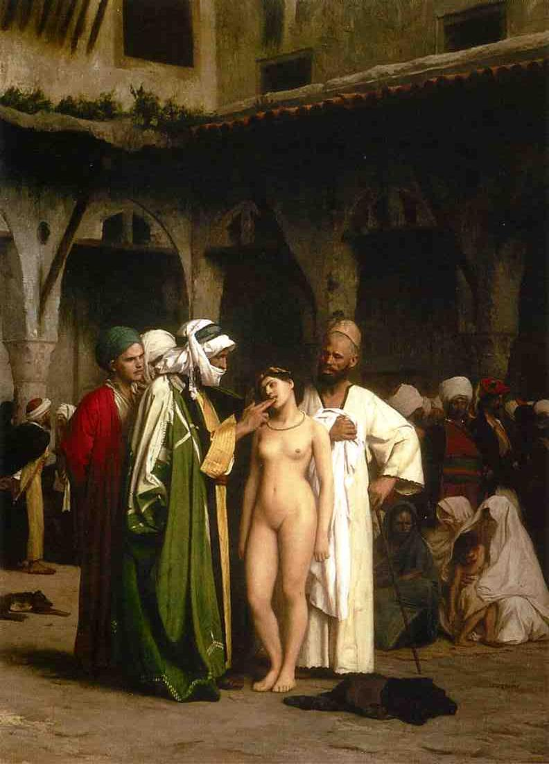 The Slave Market 1866 | Jean Leon Gerome | Oil Painting