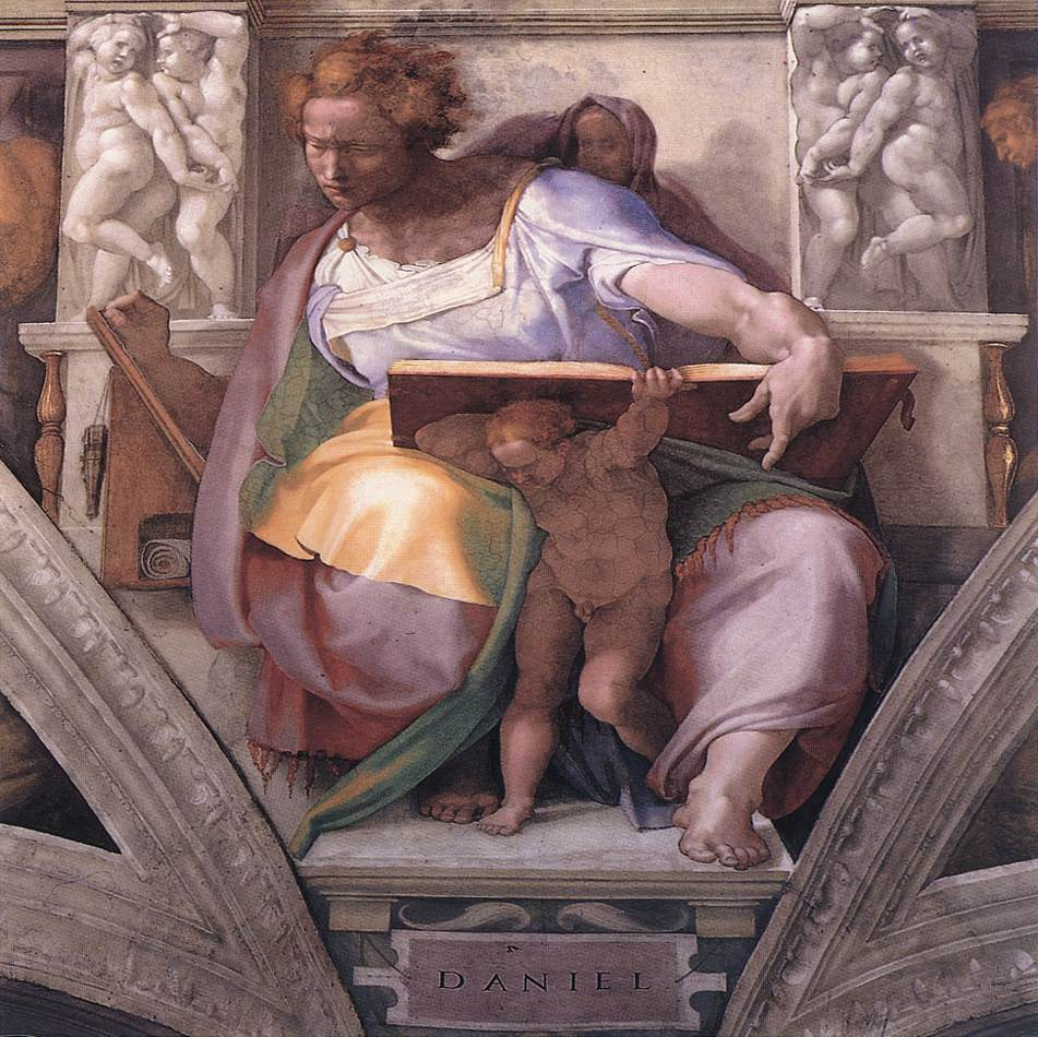 Daniel 1511 | Michaelangelo | Oil Painting
