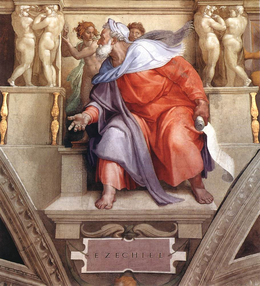 Ezekiel 1510 | Michaelangelo | Oil Painting