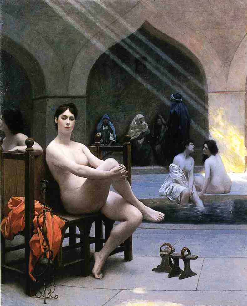 The Women's Bath 1889 | Jean Leon Gerome | Oil Painting